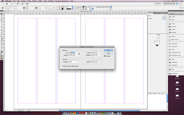 Tutorial Setting Up A Baseline Grid In Indesign Superdream