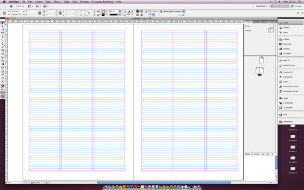 Tutorial – Setting Up a Baseline Grid in inDesign | Superdream
